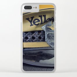 Yellow Hat Clear iPhone Case