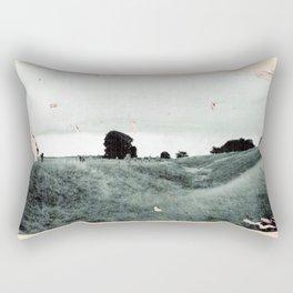 Avebury - The Field Rectangular Pillow