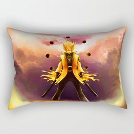naruto mode full Rectangular Pillow