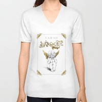 baroque V-neck T-shirts featuring so Baroque by 8tephanie 8anchez