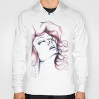 passion Hoodies featuring Passion by Luciana Perrina