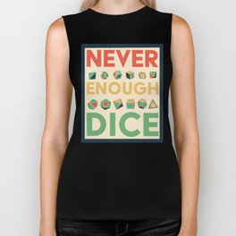 Never Enough Dice Biker Tank