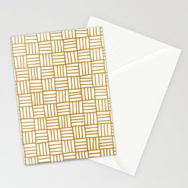 Basketweave Stationery Cards