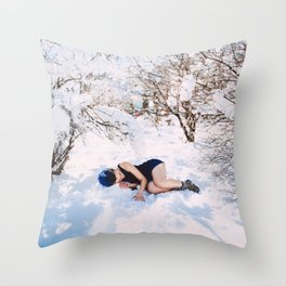 hibernation Throw Pillow
