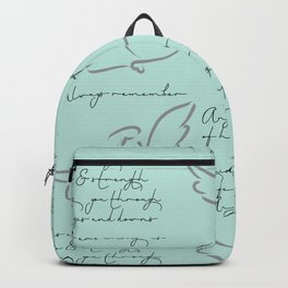 Angels are Among us guarding us... Backpack