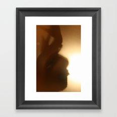 'Untitled 11' - Body language series. Framed Art Print