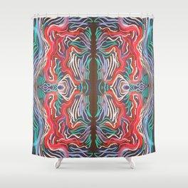 Mitose Shower Curtain