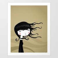 wind Art Prints featuring Wind by Volkan Dalyan