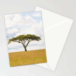 Tree Of Life - Serengeti Plains Africa 5100 Stationery Cards