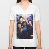 legend of korra V-neck T-shirts featuring The Legend Of Korra by Meder Taab