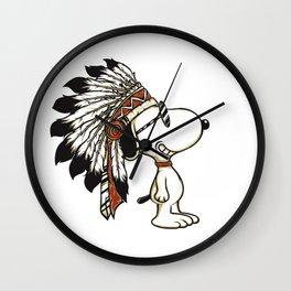 indian snoopy Wall Clock