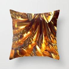 Gooey Chocolate Caramel Nougat #1 Throw Pillow