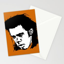 Sad Nick Cave Stationery Cards