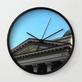 Facade of Kazan Cathedral Wall Clock