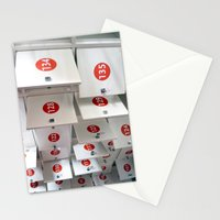 Lockers Stationery Cards