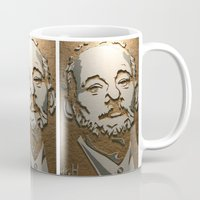 murray Mugs featuring Murray by Blake Byers