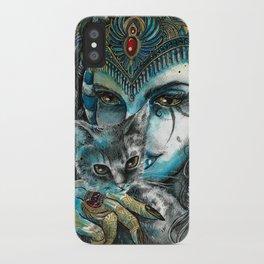 Goddess Bastet iPhone Case