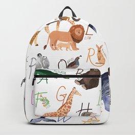 Animal Alphabet Backpack