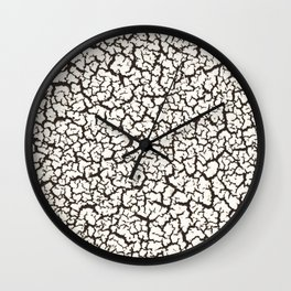 Crack Heaven Wall Clock