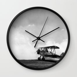 Consumed by smoke Wall Clock
