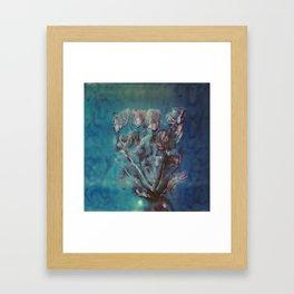 Instant Flowers Framed Art Print