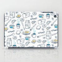 breakfast iPad Cases featuring BreakfasT by Ceren Aksu Dikenci