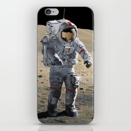 The Last Man on the Moon iPhone Skin