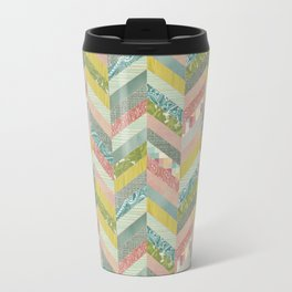 Chevron Pattern Travel Mug
