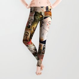 Circus Collage Leggings
