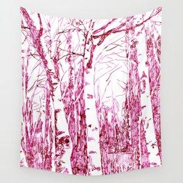 trees I Wall Tapestry