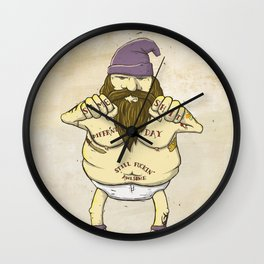 Same Shit, Different Day, Still F**king Awesome Wall Clock