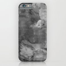 Black watercolor iPhone 6 Slim Case