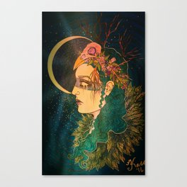 Morrigan: The Phantom Queen Canvas Print