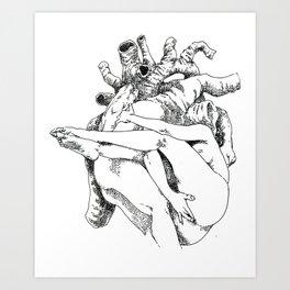 NUDEGRAFIA - 34 Heart Art Print