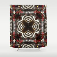 architect Shower Curtains featuring architect of the night. by DanielleYagodich