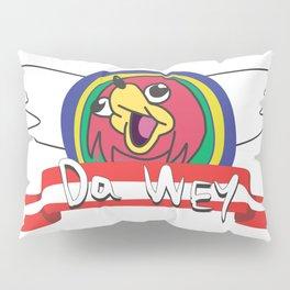 Warrior's Logo Pillow Sham