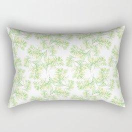 Bamboo Leaves Rectangular Pillow
