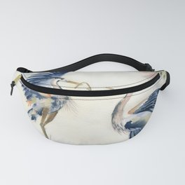 Great Blue Heron Couple Fanny Pack