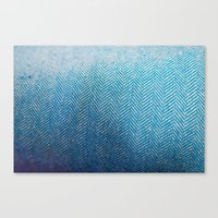 fabric Canvas Prints featuring Fabric by Anna Berthier