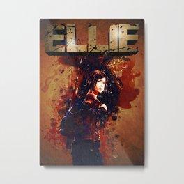 Ellie Metal Print