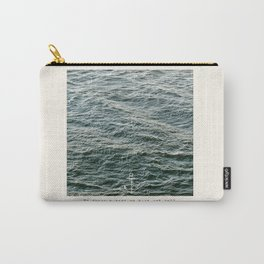 Set Sail (Franklin Delano Roosevelt Quote) Carry-All Pouch