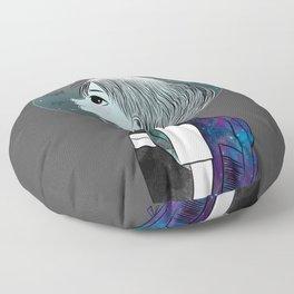 Space Boy Floor Pillow