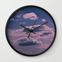 Clouds 09 Wall Clock