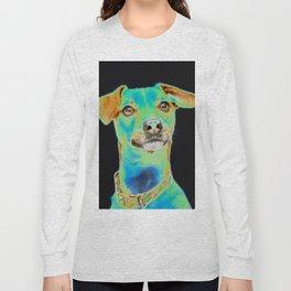 Green Dog Long Sleeve T-shirt