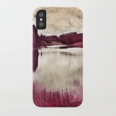 River of Pink Slim Case iPhone X