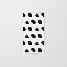 Shapes Pattern Hand & Bath Towel