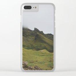 isle of skye, xxx Clear iPhone Case
