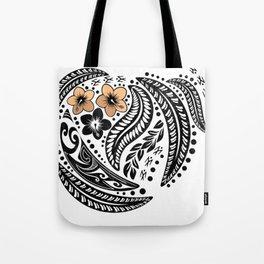 Polynesian Tribal Tote Bag