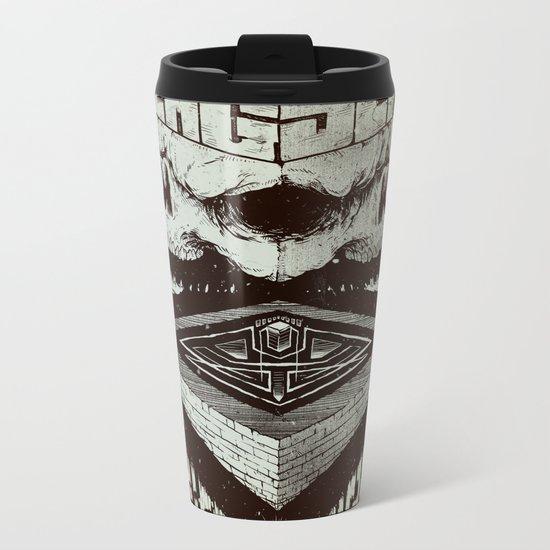 Pyramid Scheme Metal Travel Mug