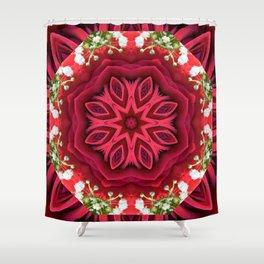 Rose Mandala - The Mandala Collection Shower Curtain